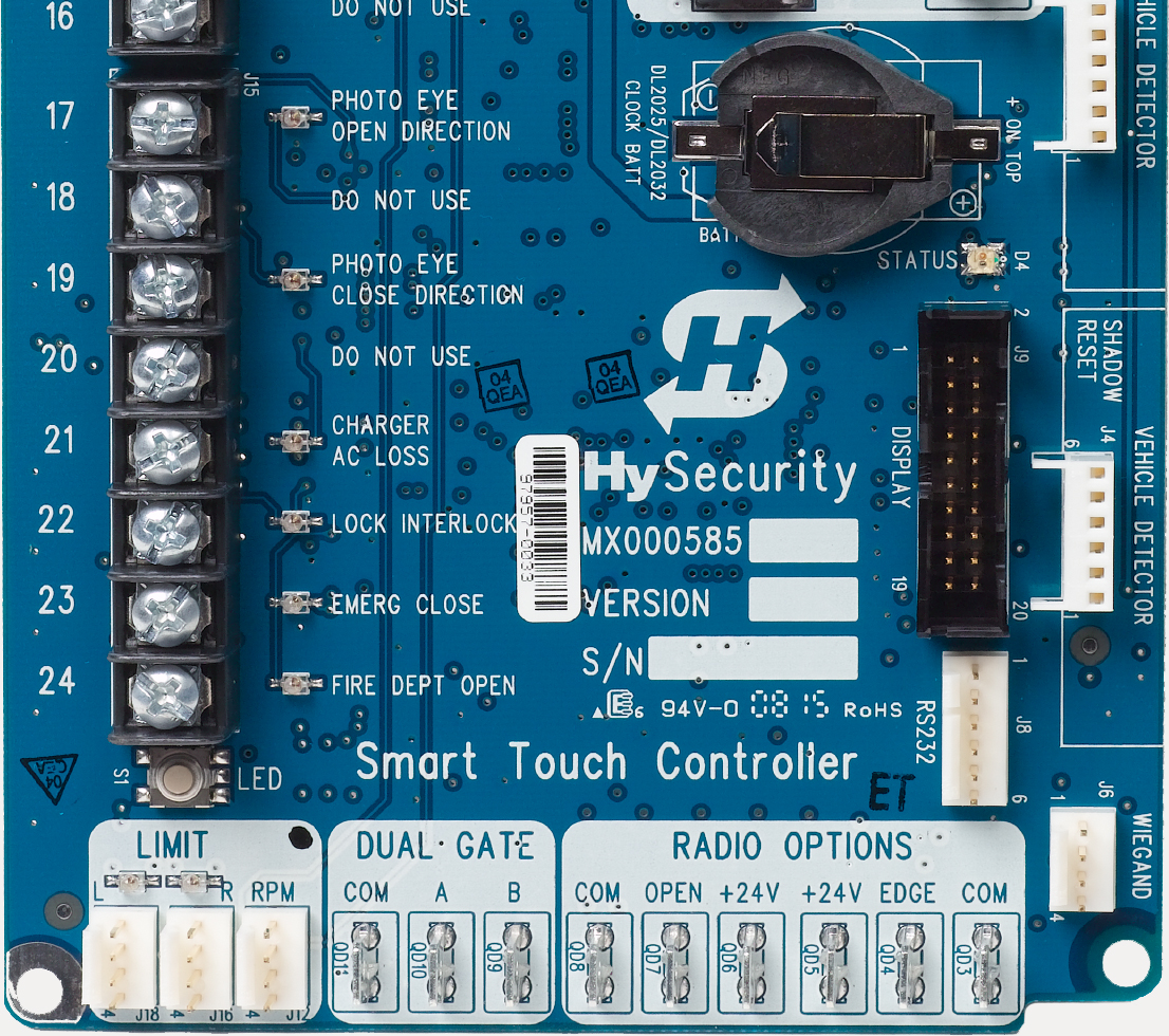 Smart Touch Controller Board